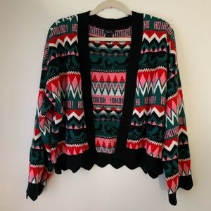 Christmas party sweater cardigan